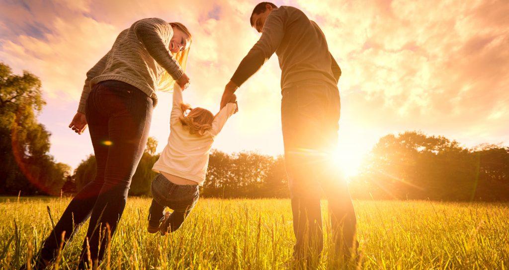 Happy family benefits of CBD