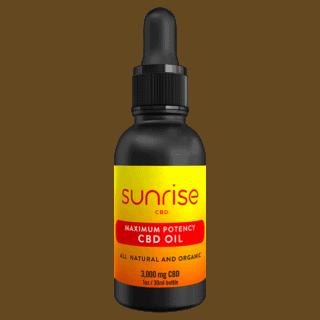 Sunrise CBD Oil 3000mg