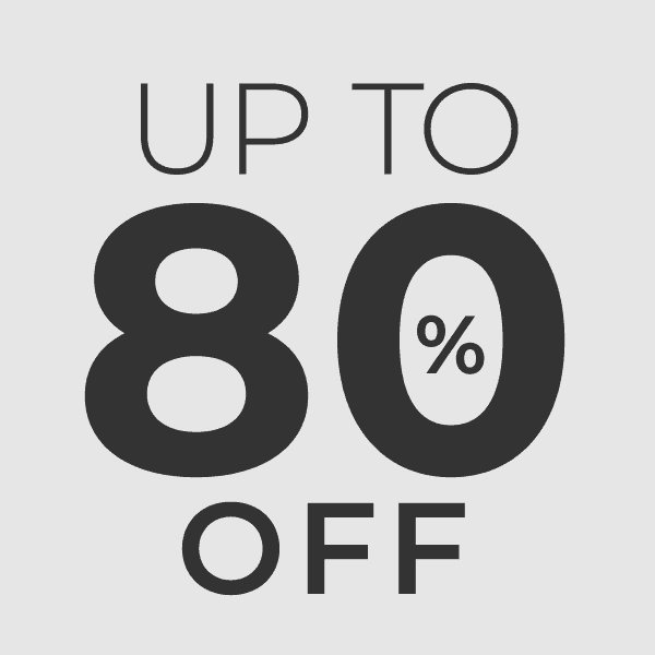 Up to 80% Off icon