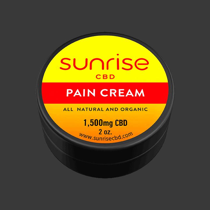 Sunrise CBD Pain Cream