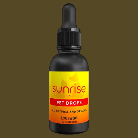 Sunrise CBD Pet Drops