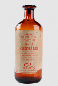 Vintage Lilly Cannabis Tincture