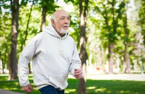 Senior running - CBD Health