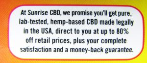 Hemp label