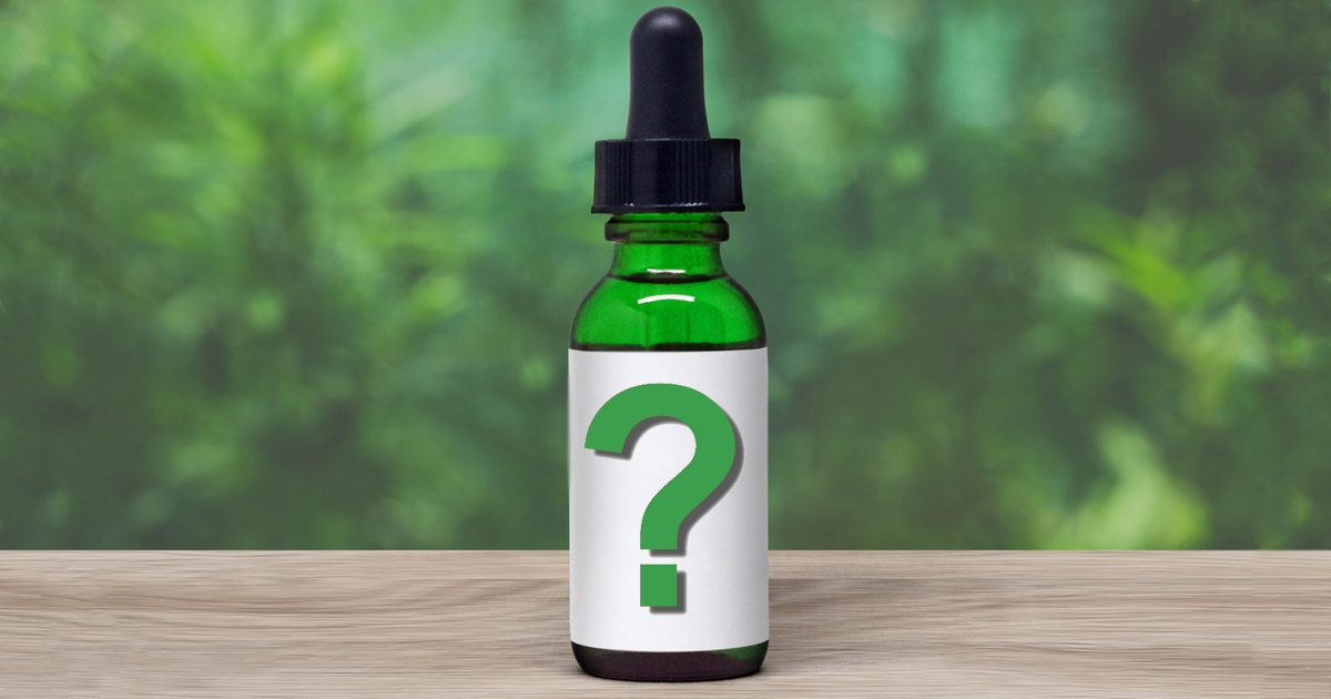 Think You're Buying CBD Oil on Amazon? Think Again