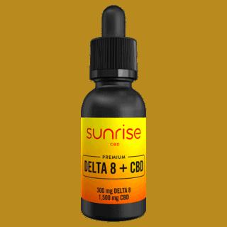 Sunrise Delta 8 + CBD